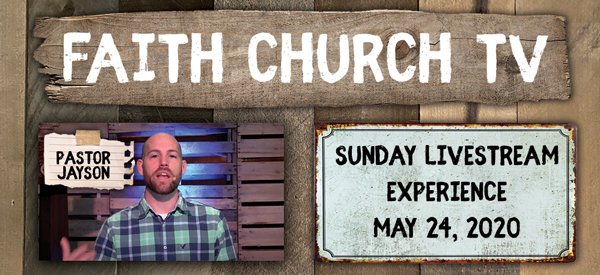 Ordinary events can become Extraordinary encounters. Faith Church – May 24th