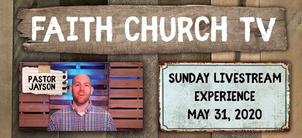 Confronted with the Truth. Faith Church May 31st Sunday Message